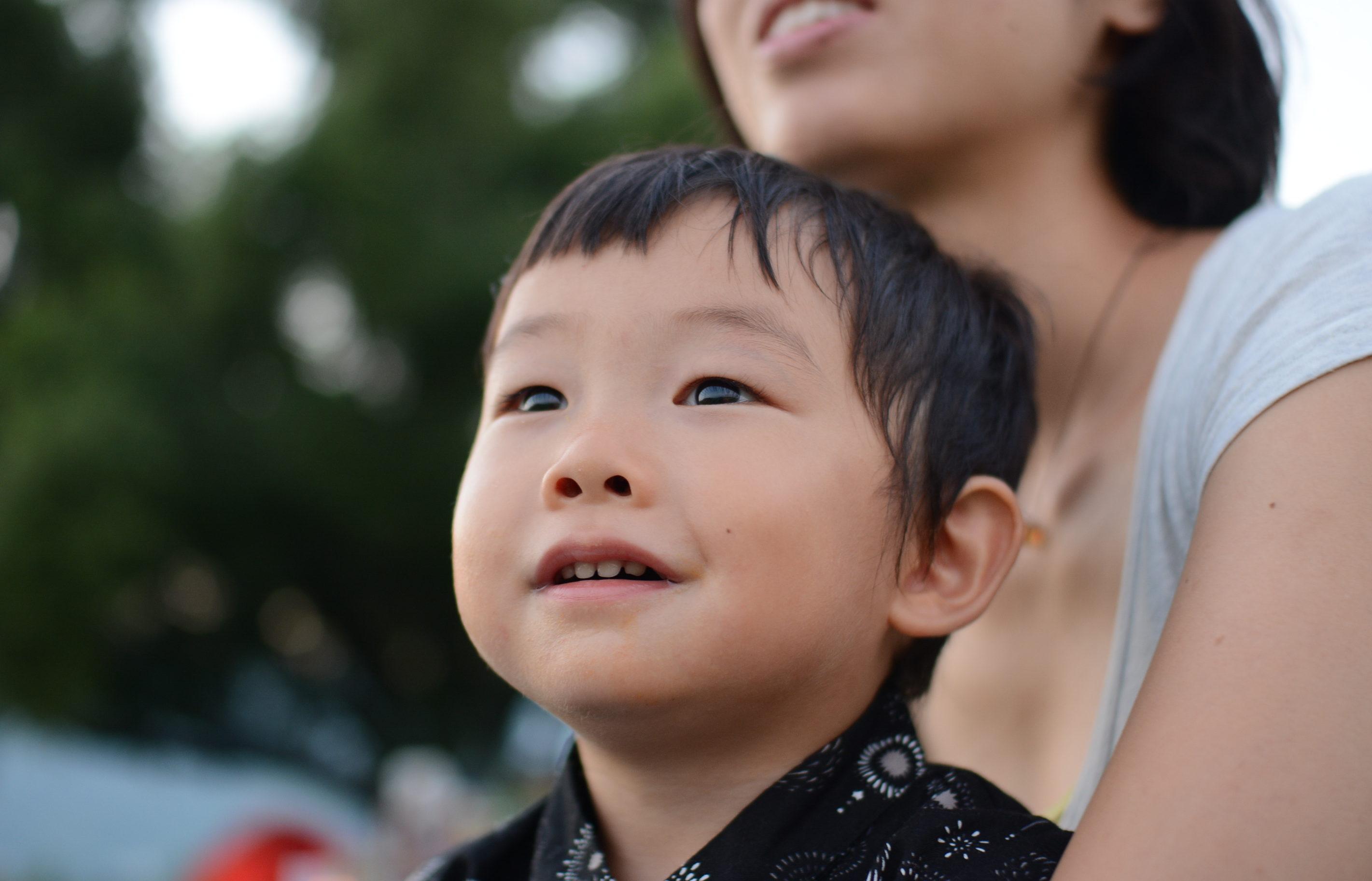 子供の写真を可愛く撮る/アップで取れば表情いきいき