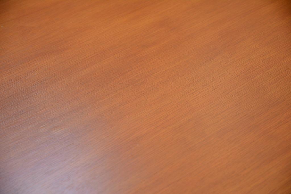 テーブルの天板アップ